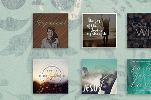 Christian Social Media Graphic Pack1