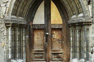 Vintage style door