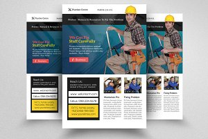 Handyman & Plumber Services Flyer