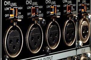 XLR inputs