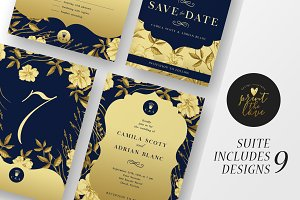 Wedding Invitation Suite - The Queen