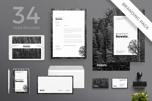 Branding Pack | Forests Day