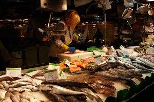 Fish seller 3