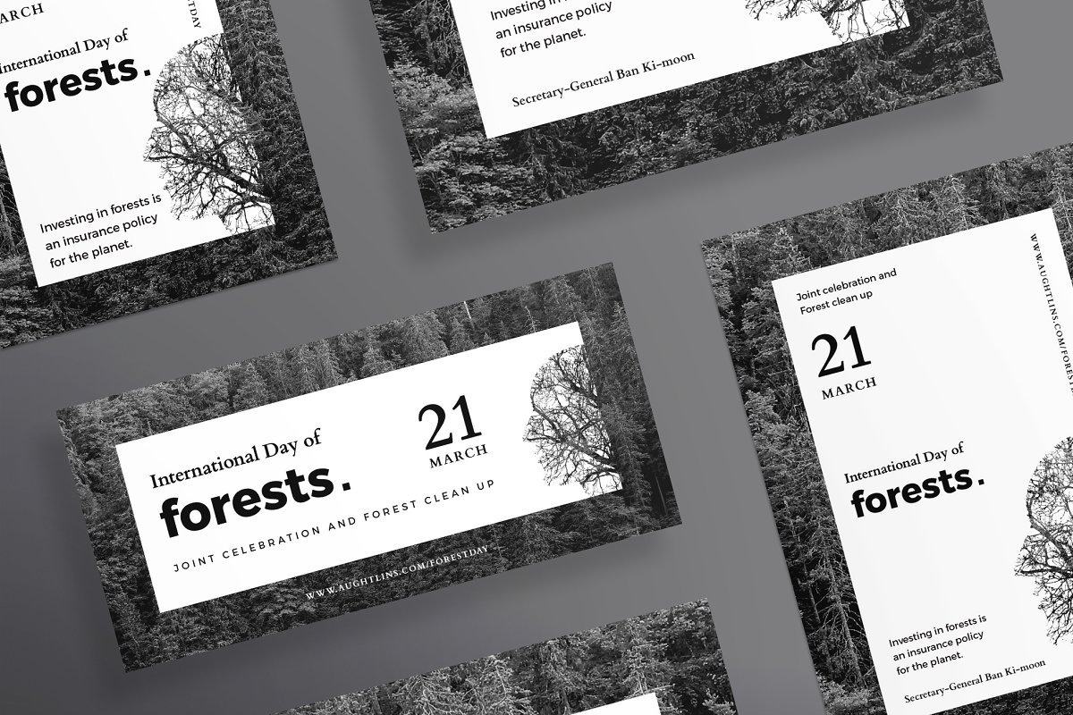 Flyers | Forests Day