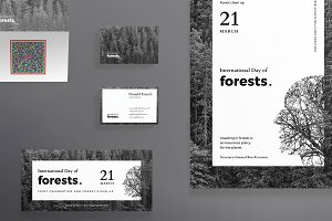 Print Pack | Forests Day