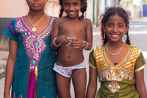 Girls from India