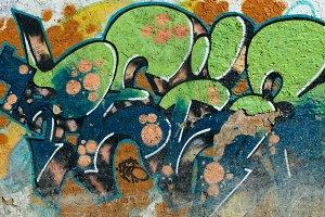 Graffiti wall.