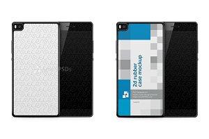 Huawei Ascend P8 2d Rubber Case