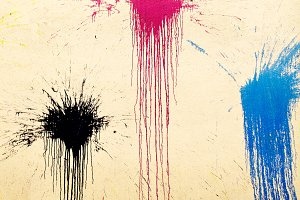 Blots on the wall