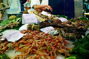 Sea food market