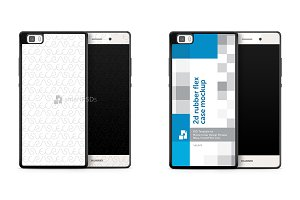 Huawei P8 Lite 2d Rubber Phone Case