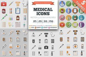 Medical Icons Themes