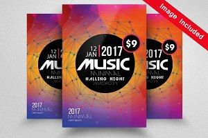 Jazz Music Flyer Template