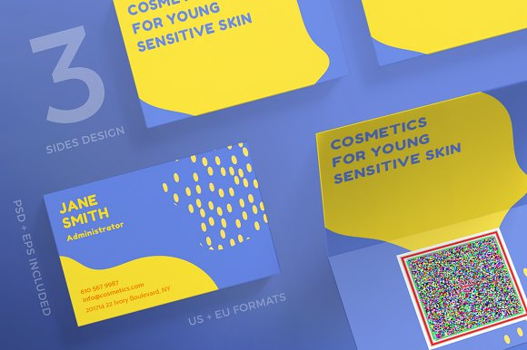 Business Cards Cosmetic Skin Business Card Templates Creative