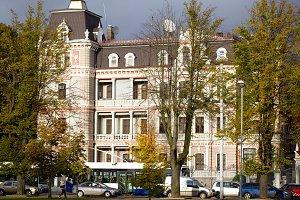 Russian embassy building in Riga