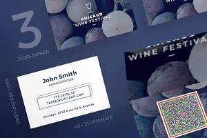 Business Cards | Wine Festival