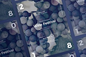 Posters | Wine Festival