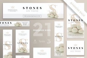 Banners Pack | Stones Spa