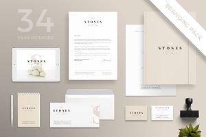 Branding Pack | Stones Spa