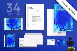 Branding Pack | Makeup Blue