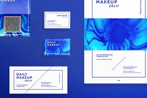 Print Pack | Makeup Blue