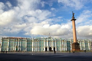 Winter Palace Alexander Column