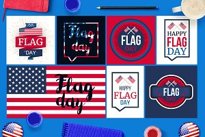 Flag Day Banners