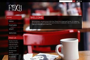 Foxy - Business/Restaurant WP Theme