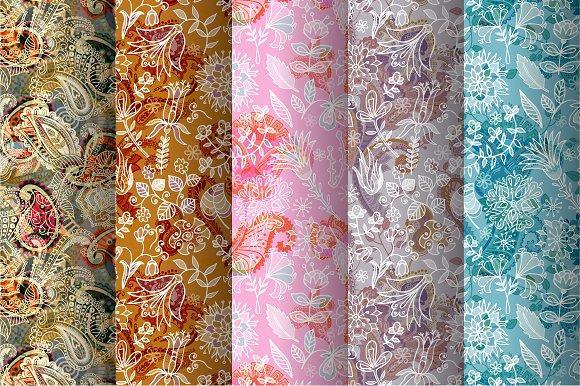 5 Floral Patterns