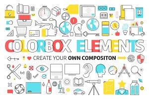 Colorbox elements