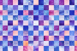 Space galaxy seamless pattern
