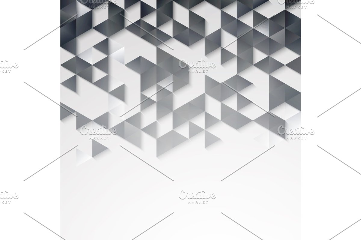 Abstract geometric background with triangles. in Illustrations