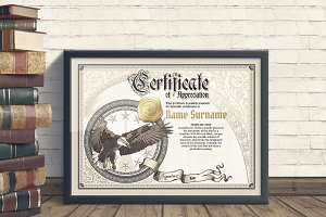 Vintage Certificate Templates