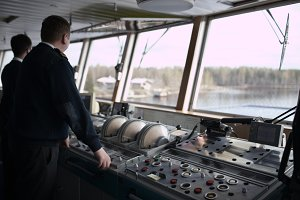 Navigation officer driving cruise