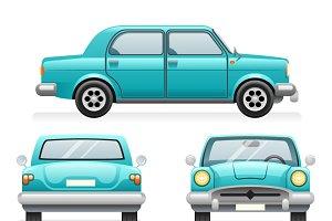 Retro Car Icons