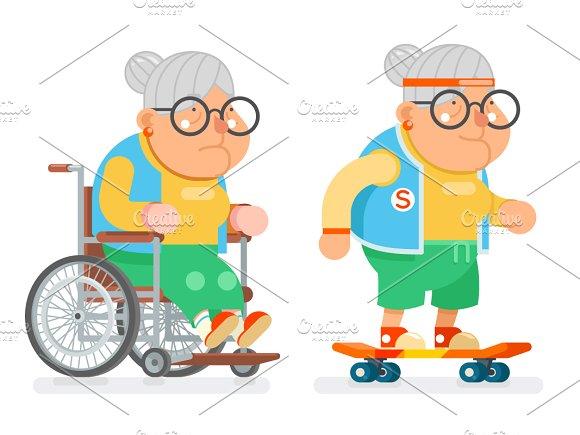 Granny Wheelchair