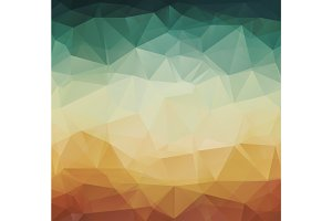 Abstract geometric pattern retro background