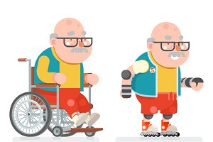 Wheelchair Grandfather
