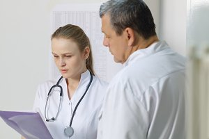 nurse reported doctor about medical