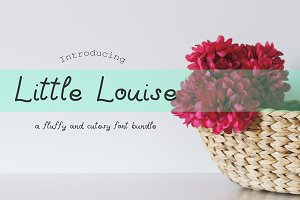 Little Louise, a cutesy font