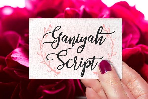 Ganiyah Script