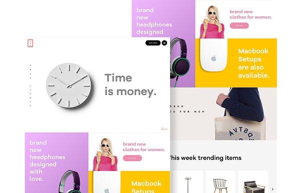 UXU Multipurpose Retail Template