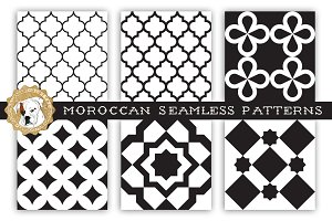 Moroccan Seamless Patterns
