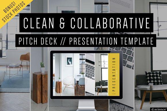 Creative Pitch Deck Keynote Template