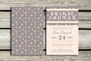 Floria - Bridal Shower Invitation