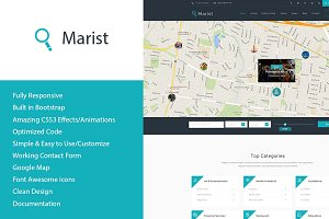 Marist - Directory HTML Template
