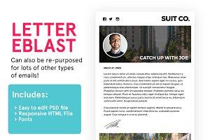 Letter Eblast (PSD+HTML)