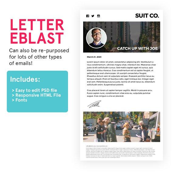 Letter Eblast