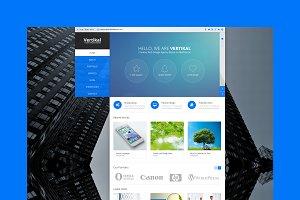 Vertikal - Business HTML Template