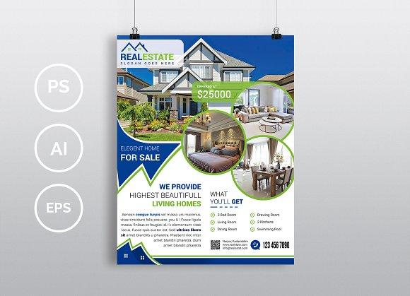 10 real estate flyers bundle 90 off flyer templates creative market